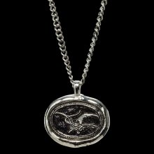 The Hobbit The Desolation of Smaug Pendant and Chain Smaug Wax S