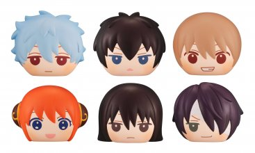 Gintama Fluffy Squeeze Bread Anti-Stress Figures 8 cm Assortment