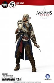 Assassin's Creed III Color Tops Akční figurka Connor 18 cm