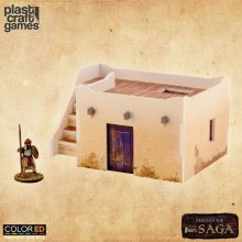 SAGA ColorED Miniature Gaming Model Kit 28 mm Desert Dwelling wi