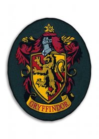 Harry Potter Carpet Gryfindor Shield 78 x 100 cm