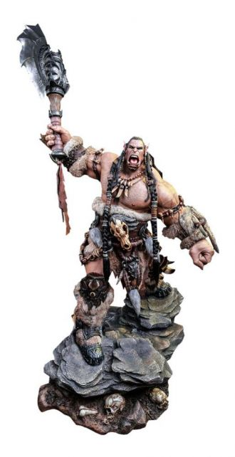 Warcraft Big Budget Premium Socha Durotan Version 2 104 cm