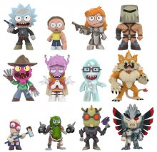 Rick and Morty Mystery mini figurky 5 cm Display Series 2 (12)