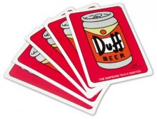 Duff Beer Playing Cards