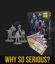 Batman Miniature Game Miniatures The Joker Why So Serious *Engli