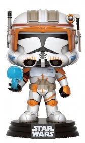 Star Wars POP! Vinyl Bobble-Head Figure Clone Commander Cody 9 c