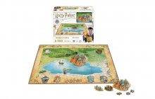 Harry Potter 4D Mini Puzzle Bradavice (500 pieces)