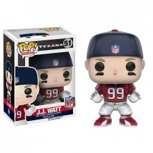 NFL POP! Football figurka J.J. Watt (Houston Texans) 9 cm Cap
