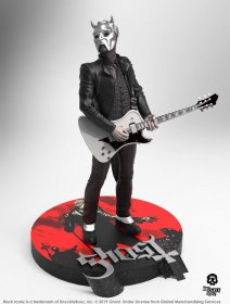 Ghost Rock Iconz Socha Nameless Ghoul (White Guitar) Limited Ed