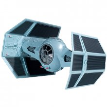 Star Wars EasyKit skládací model 1/57 Darth Vader´s TIE Fighter