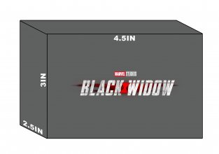 Marvel HeroClix: Black Widow Movie - Black Widow with Motorcycle