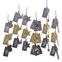 Kingdom Hearts Diecast Mini Charm Collection 10 cm prodej v sadě