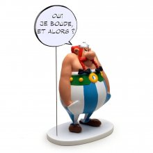 Asterix Collectoys Comics Speech Socha Obelix Yes I am grumpy,