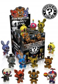 Five Nights at Freddy's Mystery mini figurky 6 cm Display (12)
