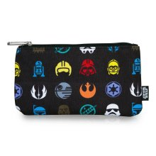 Star Wars by Loungefly Coin/Cosmetic Bag Multi Symbol