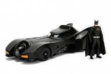 Batman Build N' Collect Diecast Kit 1/24 1989 Batmobile with Bat
