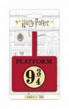 Harry Potter Rubber Luggage Tag Platform 9 3/4