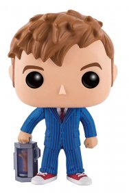 Doctor Who POP! Television Vinyl Figure 10th Doctor With Hand 9