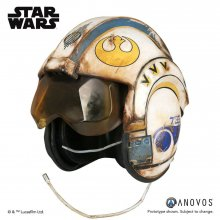 Star Wars Episode VII Replica 1/1 Rey Salvaged X-Wing Helmet Acc