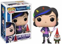Trollhunters POP! Television Vinylová Figurka Claire & Gnome 9 c