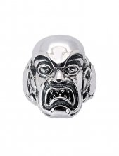 Rob Zombie Ring Phantom Creep (Sterling Silver) Size 10