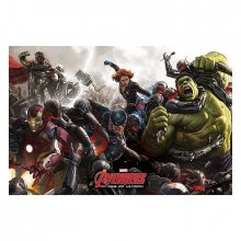 Plakát Avengers Age of Ultron Battle 61 x 91 cm
