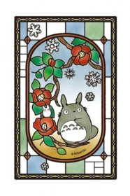 My Neighbor Totoro Art Crystal skládací puzzle Blooming Camellia