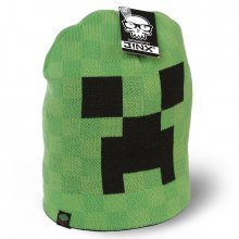 Čepice Minecraft Creeper