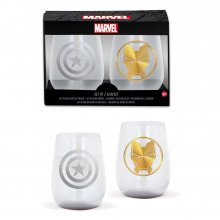 Marvel Avengers Crystal Glasses 2-Packs Case (6)