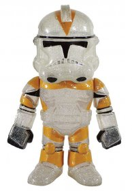 Star Wars Hikari Sofubi Vinyl Action Figure Clear Clone Trooper