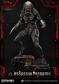 The Predator Socha 1/4 Assassin Predator 93 cm