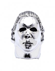 Halloween Ring Michael Myers (Plated Brass) Size 09