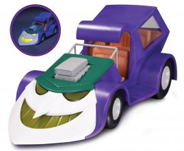 Batman The Animated Series Light Up Vehicle Jokermobile 20 cm