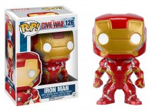 Captain America Civil War POP! Vinyl Bobble-Head Iron Man 10 cm
