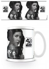 Star Wars Mug 40th Anniversary (Princess Leia)