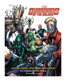 Guardians of the Galaxy Art Book Creating Marvel's Spacefaring S
