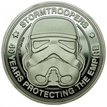 Original Stormtrooper sběratelská mince 40 Years Protecting The
