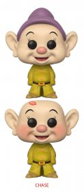 Snow White and the Seven Dwarfs POP! Disney Figures Dopey 9 cm A