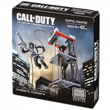 Call of Duty stavebnice Mega Bloks Rappel Fighter