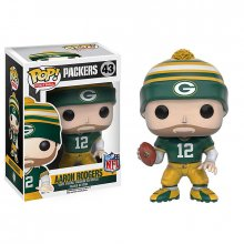 NFL POP! Football figurka Aaron Rodgers (Packers) 9 cm CAP