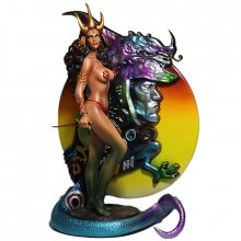 Fantasy Figure Gallery socha Dragon Maiden Web Limited Ver.