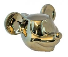 Mickey Mouse Deluxe 3D Hrnek Gold