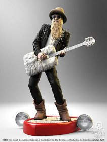 Billy F Gibbons Rock Iconz Socha 22 cm