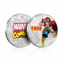 Marvel Collectable Coin Thor (silver plated)