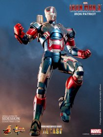 Iron Man 3 MMS DX sběratelská figurka Iron Patriot 30cm Hot Toys
