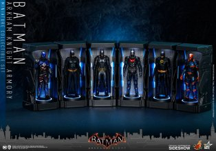 Batman: Arkham Knight Miniature Collectible Set Armory 12 cm
