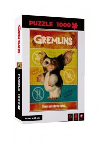 Gremlins skládací puzzle There Are Three Rules