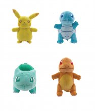 Pokémon Monochrome Plush Figures 20 cm Display (6)
