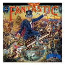 Elton John Rock Saws skládací puzzle Captain Fantastic and The B