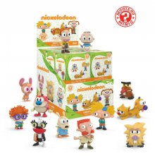 Nickelodeon Mystery Minis Vinyl mini figurky 6 cm Display 90's (